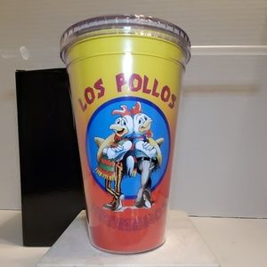 Other - Los Pollos Hermanos Plastic Travel cup